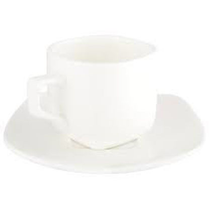 صورة 7 OZ | 200 ML TEA CUP & SAUCER SET OF 4 IN COLOUR BOX