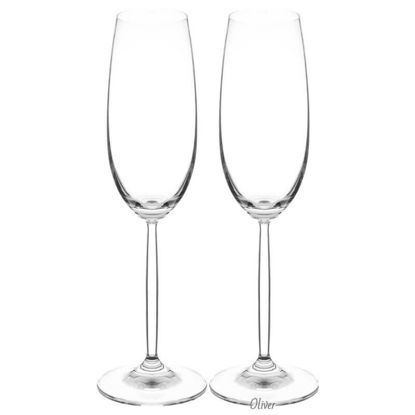 صورة Champagne Flute 8 oz | 230 ml Set of 2 in colour box