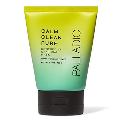 صورة PALLADIO CALM CLEAN PURE DETOXIFYING CHARCOAL MASK