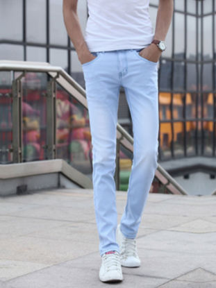 صورة Men's Jeans Stylish Casual Denim Pants  31