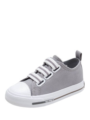 Picture of Girl's Canvas Sneakers Elastic Strap Kid's Causal Shoes