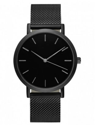 Picture of Men's Simple Style Watch All Match Stainless Steel Band Accessory