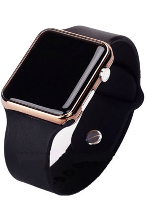 Picture of Men's Watch Sport Casual LED Digital Clock Silicone Band Wristwatch