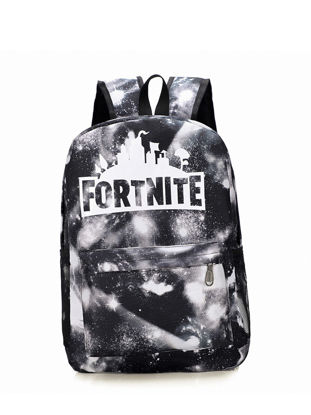 Picture of Men's Backpack Fashion Color Block Patchwork Letter Pattern Chic Backpack
