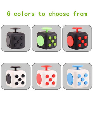 Picture of The Second Generation of Anti-anxiety Decompression Rubik's Cube Dice Fidgety Toys
