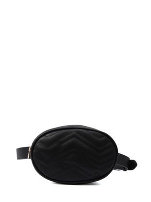 Picture of Women's Waist Bag Solid Color Sewing Thread Simple Casual All Match Bag