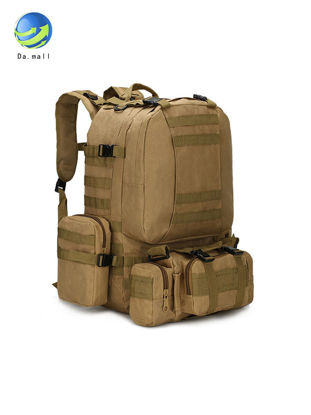 Picture of Men's Outdoor Backpack Fashion Sport Waterproof Camouflage Large Capacity Casual Bag