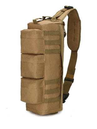Picture of Outdoor Duffel Bag Camouflage Pattern Color Block Durable Climbing Bag