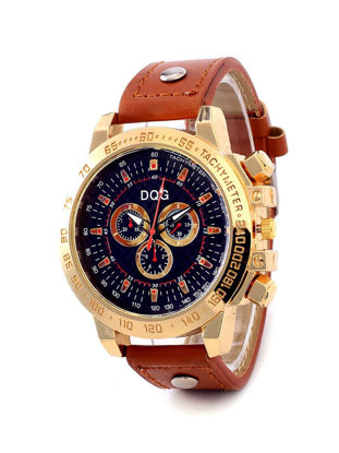 Picture of Men's Quartz Watch Pointer Display Pin Buckle Watch Accessory