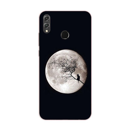 Picture of Huawei Series Phone Cover Moon Pattern Protective Case