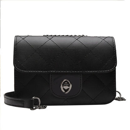 Picture of Women's Crossbody Bag Solid Color All Match Quilted Bag