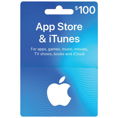 Picture of ITunes Card $100