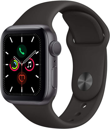 Picture of Apple Watch Series 5 (GPS, 44mm) - Black / Gold Aluminum Case