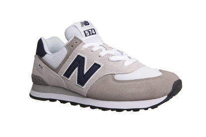 Picture of NB Lifestyle Mens Shoes - ML574EAG (Gray, Blue)
