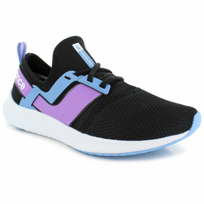 Picture of NB Performance Womens Shoes - WNRGSSM1 (Black/Blue/Purple)
