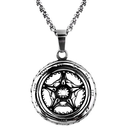 Picture of Men's Necklace Retro Style Star Pattern Fashion Accessory