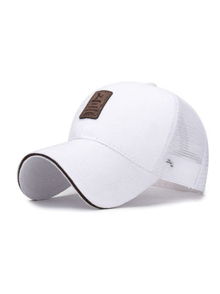 Picture of Men's Hat Solid Color Patchwork All Match Baseball Cap