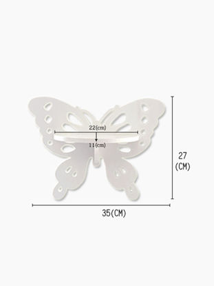 Picture of Wall Rack European Style Vivid Butterfly Shape Home Decor Wall Rack