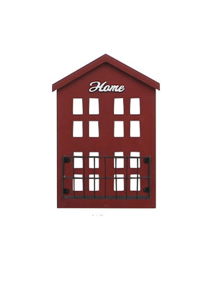Picture of 1Pc Living Room Wall Shelf House Shape Adorable Design Home Wall Decoration
