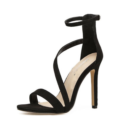 صورة Women's High Heel Sandals Stiletto Sexy Party Sandals