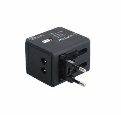 Picture of HAVELLS Universal Travel Adaptor USB 2.1 A