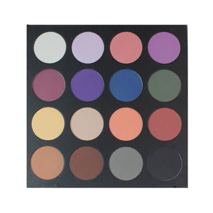 Picture of EYESHADOW PALETTE (PAPER) - 16 COLOUR