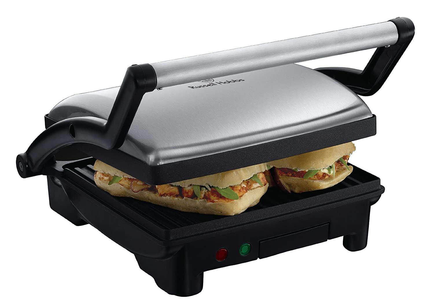 Picture of Russell Hobbs 17888 3-in-1 Panini Press, Grill and Griddle - Stainless Steel by Russell Hobbs