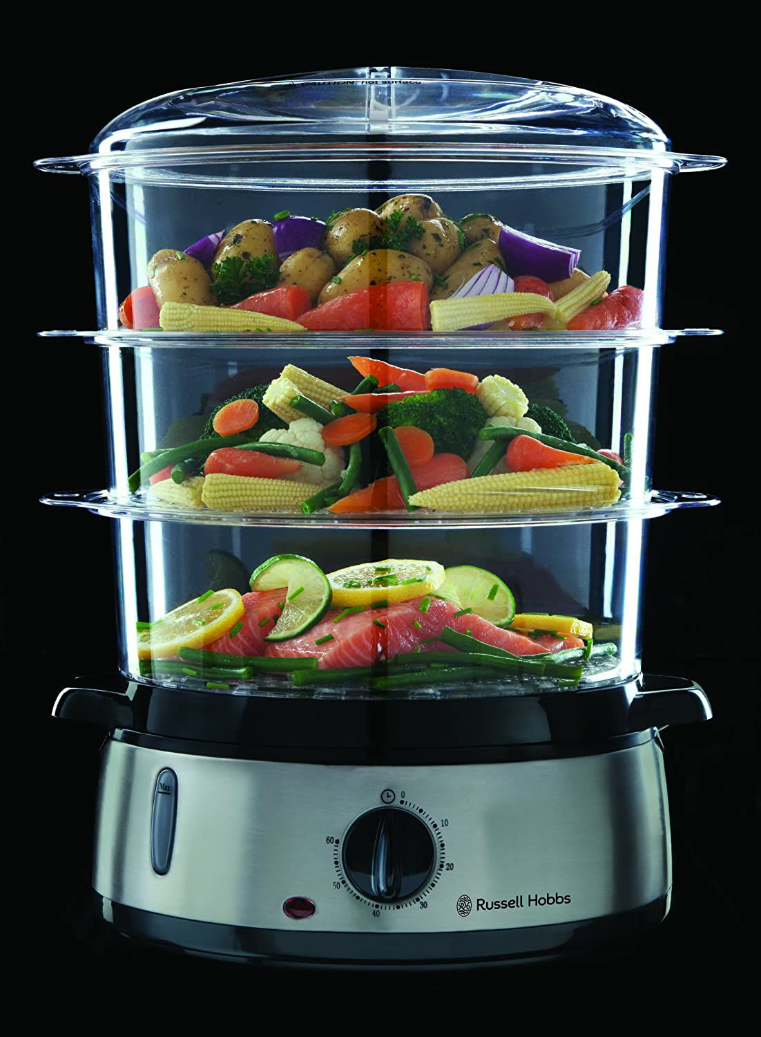 Picture of Russell Hobbs 19270-56 Food Steamer Cook@home-19270-56, Silver