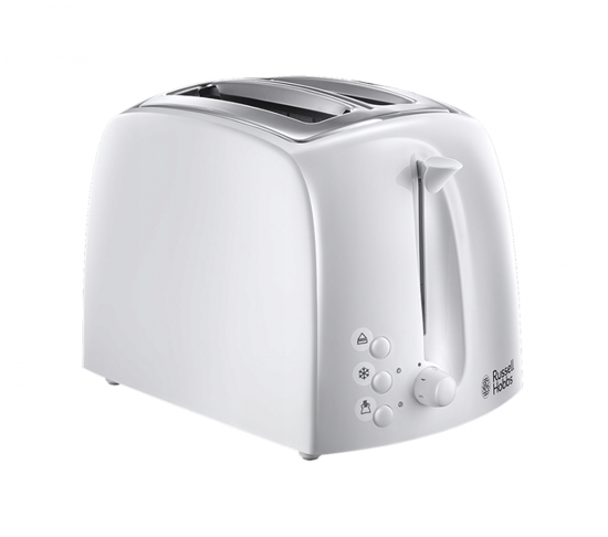 Picture of Russel Hobbs 2 Slice 850W White RH-21640 Toaster
