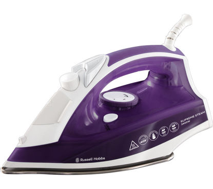 Picture of RUSSELL HOBBS Supremesteam 23060 Steam Iron - Purple