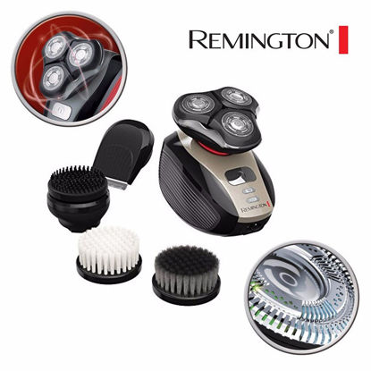Picture of Remington XR1410  Wet & Dry Men's Grooming Kit with Additional Shaving Head and Beauty & Health/Health & Personal Care/Shavers & Removal-Aid Cleaning Brush
