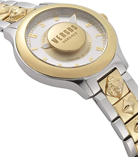 Picture of Versus by Versace Tokai Women's VSP410518 Silver Dial Two Tone Stainless Steel Bracelet Watch