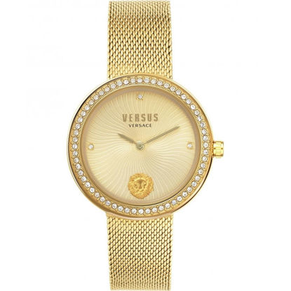 Picture of Versus Versace VSPEN0819 Women's Lea Gold Tone Wristwatch