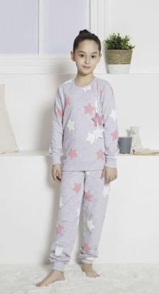 Picture of ENKI GIRLS BAYKA ROSEBLOOM PAJAMA SET