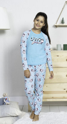 Picture of ENKI GIRLS COTTON GULF STREAM PAJAMA SET