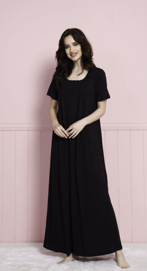 صورة ENKI WOMEN COTTON TUNIC- BLACK