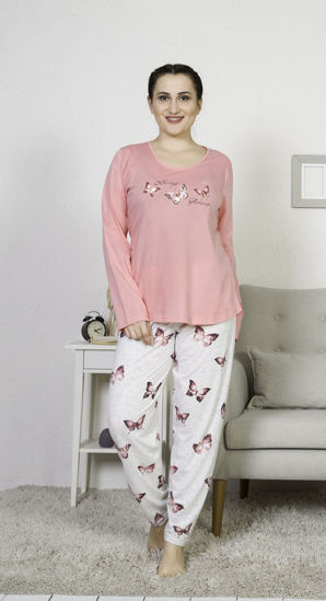 Picture of ENKI WOMEN XXL COTTON COTTONPINK PAJAMA SET