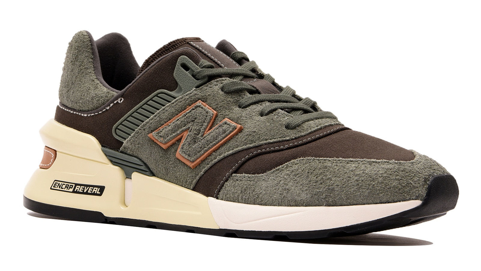 Picture of NB Lifestyle Mens Shoes - MS997LOF (Green Camo)