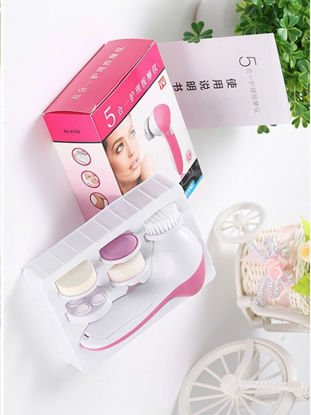 Picture of Women's Electric Facial Cleanser Brush Sonic Deep Pore Clean With Replaceable Heads -