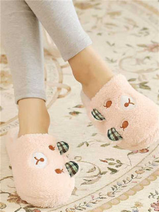 Picture of Home Slippers Voguish Popular Lovely Closed Toe Supple Floor Slippers - Size: 40-41