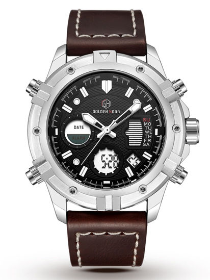 Picture of Men's Sporty Watch Personality Chic All Match Watch Accessory - Size: One Size