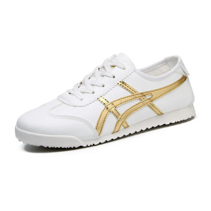 Picture of Women's Canvas Shoes Fashion Round Toe Casual Shoes - Size: 38