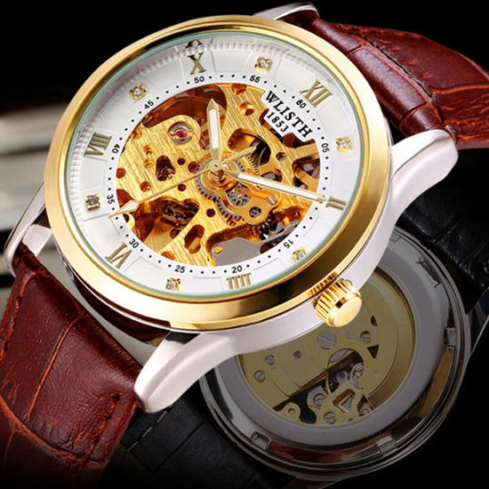 Picture of Men's Automatic Watch Hollow Out Luminous Wrist Watch Accessory - Size: One Size