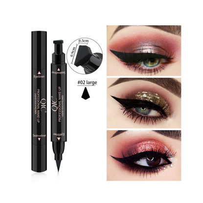Picture of Women's Liquid Duo Eyeliner Long Lasting Waterproof Non-smudge Sealeveliner Eyes Makeup -