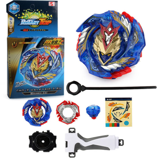 Picture of Spinning Top With Handle Puller Launcher Fighting Gyro Toy - Size: One Size