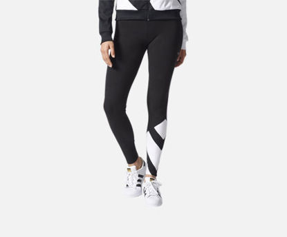 صورة [100% Genuine]Adidas Women's Sports Pants Comfy Wearable Contrast Color Casual Style Pants