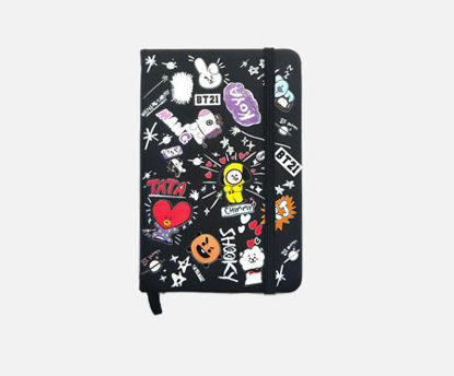 Picture of 1 Pc Notebook Creative Cartoon Design Adorable Stationery Supplies - Size: One Size