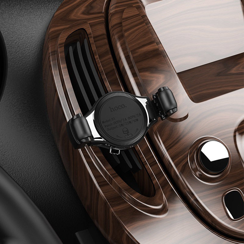 Picture of Mobile Car Holder & Wireless Charger  Hoco S1