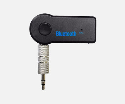 Picture of 3.5mm Wireless Bluetooth Adapter AUX Audio Stereo Music Car Receiver Adapter