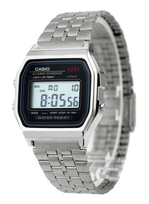 Picture of Men's Water Resistant Stainless Steel Retro Digital Watch A159WA-N1DF